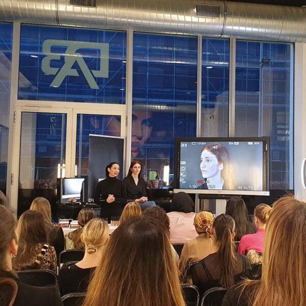 NARS visagie masterclass voor studenten van Dutch Beauty Academy