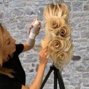 Bridal Hairstyling opleiding Zohra Handiri bij Dutch Beauty Academy in Amsterdam